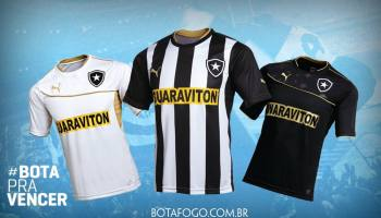 c373706e14 Acabou o mistério  Botafogo apresenta novo uniforme para a temporada ...